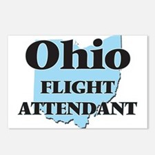 Ohio Flight Attendant Postcards (Package of 8)