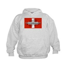 Switzerland Flag Plus Hoody