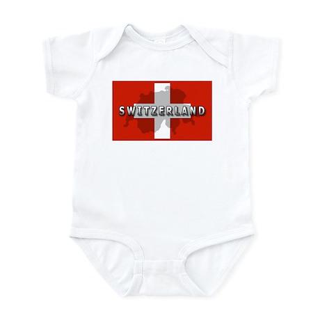 Switzerland Flag Plus Infant Bodysuit