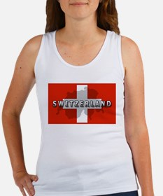 Switzerland Flag Plus Women's Tank Top