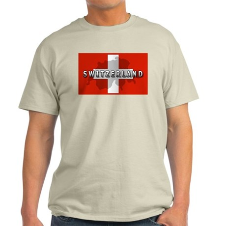 Switzerland Flag Plus Light T-Shirt