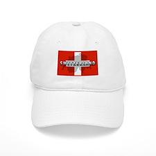 Switzerland Flag Plus Baseball Cap