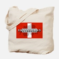 Switzerland Flag Plus Tote Bag