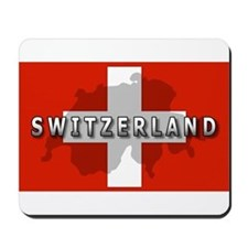 Switzerland Flag Plus Mousepad