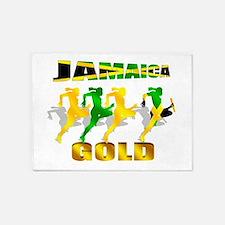 Jamaica Athletics 5'x7'area Rug
