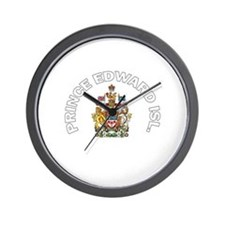 Prince Edward Island Coat of Wall Clock
