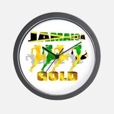 Jamaica Athletics Wall Clock