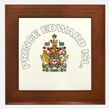 Prince Edward Island Coat of Framed Tile