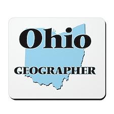 Ohio Geographer Mousepad