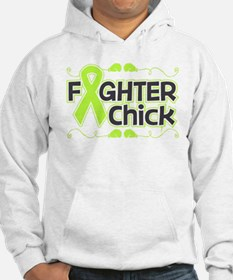Lymphoma Fighter Chick Hoodie