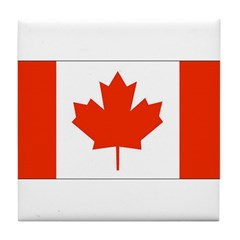 Canadian Gifts Tile Coaster