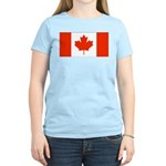 Canadian Gifts Women's Pink T-Shirt