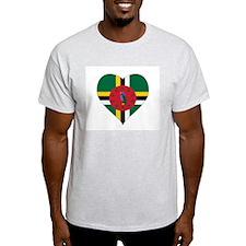 Unique Dominica flag T-Shirt