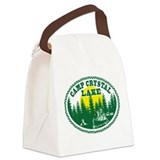 Crystal lake camp Canvas Lunch Bag