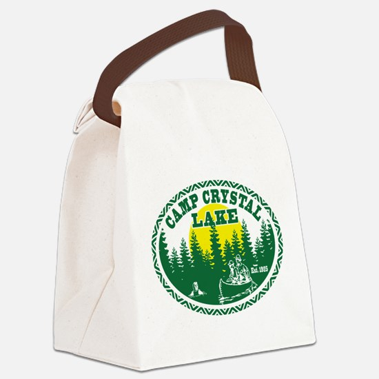Camp Crystal Lake Canvas Lunch Bag