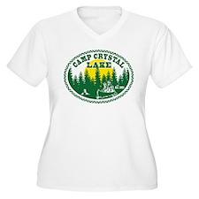 Camp Crystal Lake Plus Size T-Shirt