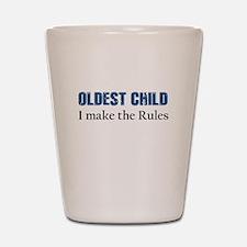 OLDEST CHILD Shot Glass