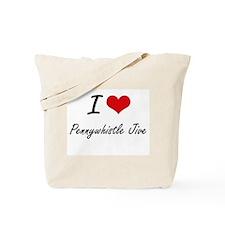 I Love PENNYWHISTLE JIVE Tote Bag