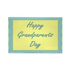 Happy Grandparents Day Rectangle Magnet