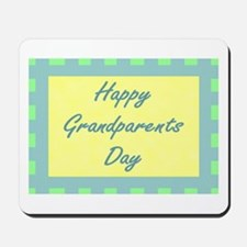 Happy Grandparents Day Mousepad