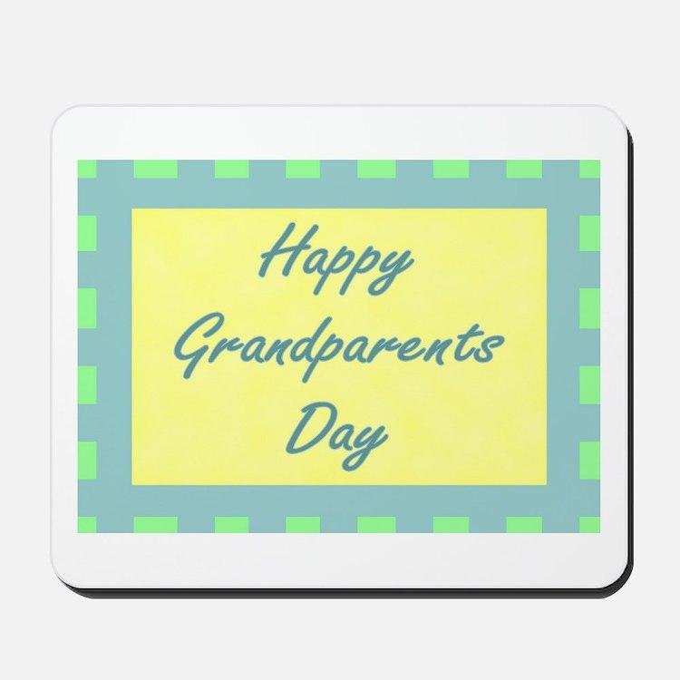 Happy Grandparents Day Mousepad