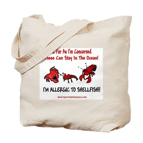 Shellfish Allergy Tote Bag