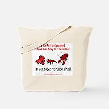 Shellfish Allergy Tote Bag