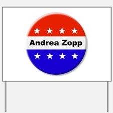 Vote Andrea Zopp Yard Sign