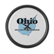Ohio Higher Education Administrat Large Wall Clock