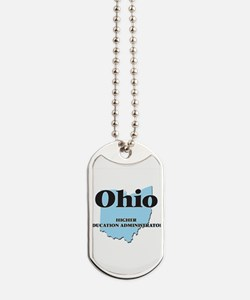Ohio Higher Education Administrator Dog Tags