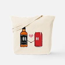 jack and coke Tote Bag