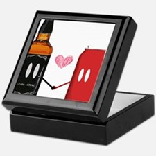 jack and coke Keepsake Box