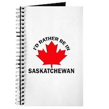 I'd Rather Be in Saskatchewan Journal