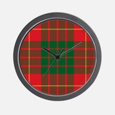 Cameron Clan Wall Clock