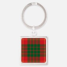 Cameron Clan Square Keychain