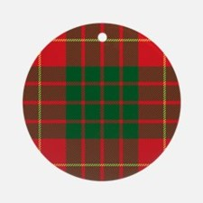 Cameron Clan Round Ornament