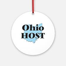 Ohio Host Round Ornament