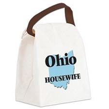 Ohio Housewife Canvas Lunch Bag