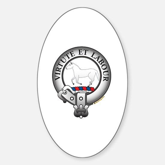 Cochrane Clan Sticker (Oval)