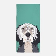 English Setter Beach Towel