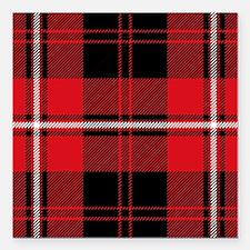 "Cunningham Clan Square Car Magnet 3"" x 3"""