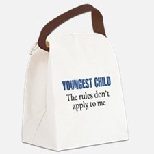 YOUNGEST CHILD Canvas Lunch Bag