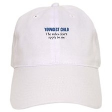 YOUNGEST CHILD Baseball Baseball Cap