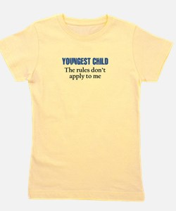 YOUNGEST CHILD Girl's Tee