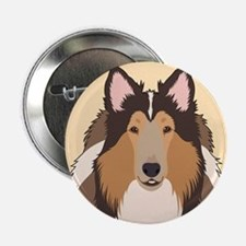 """Collie 2.25"""" Button (10 pack)"""