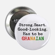"be ghanaian 2.25"" Button"