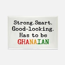 be ghanaian Rectangle Magnet