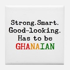 be ghanaian Tile Coaster