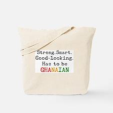 be ghanaian Tote Bag