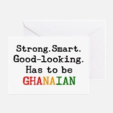 be ghanaian Greeting Card